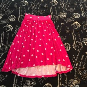 Gently used little girls skirt